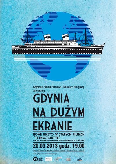 GDYNIA NA DUŻYM EKRANIE: Transatlantyk