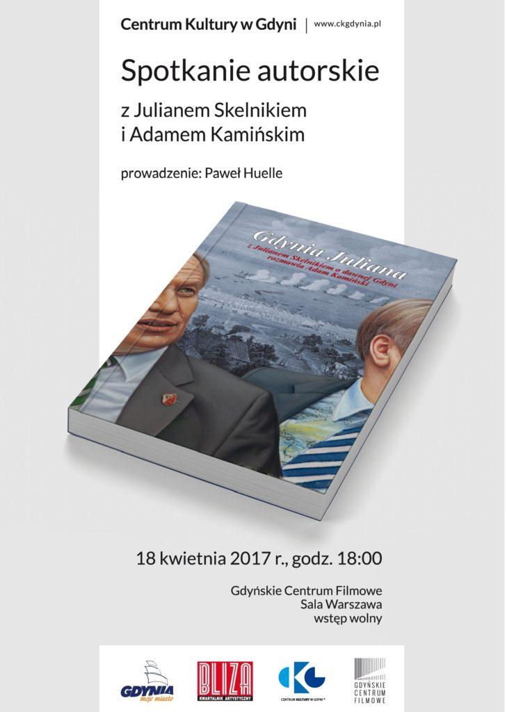 """Promocja książki """"Gdynia Juliana"""", 18 kwietnia, wtorek, godz.18:00, Gdyńskie Centrum Filmowe"""