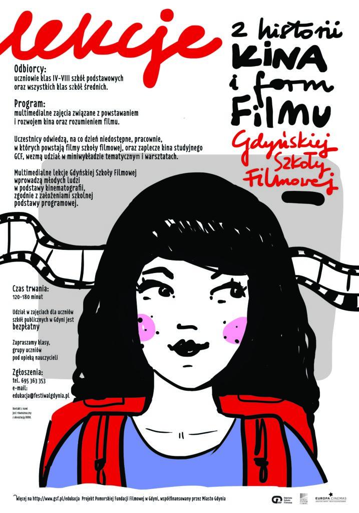 Lekcje z historii kina i form filmu Gdyńskiej Szkoły Filmowej