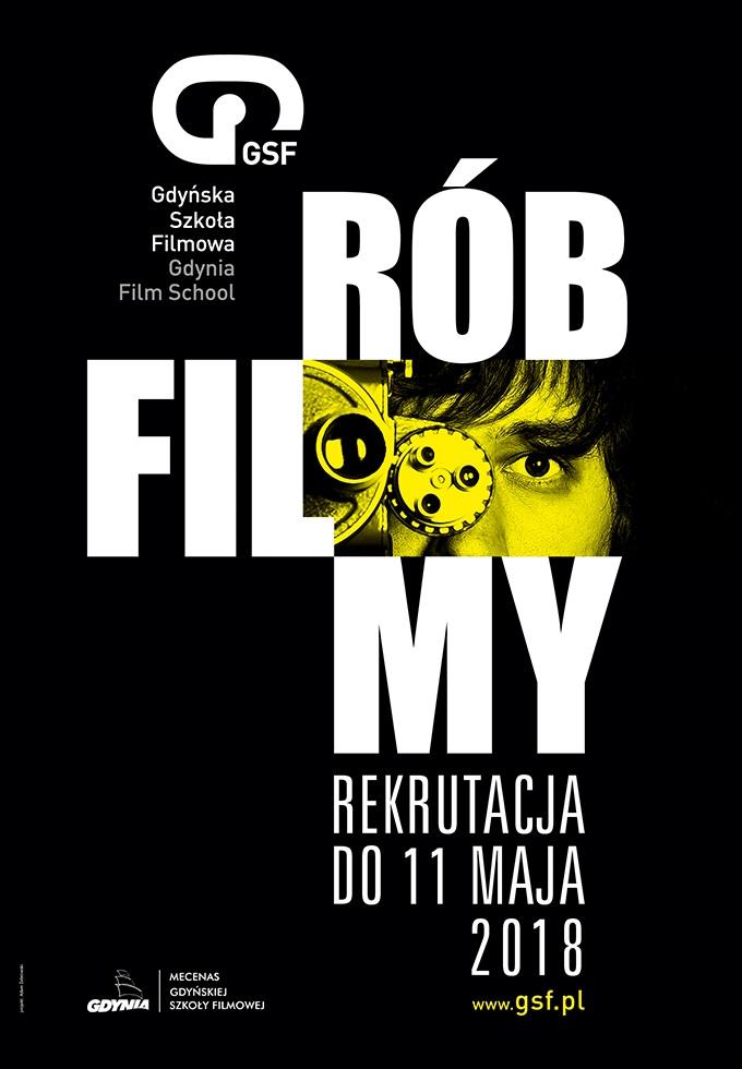 Rób filmy! Zacznij naukę w Gdyńskiej Szkole Filmowej.